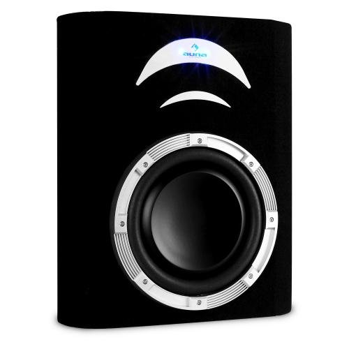 auna cd250 4bx aktiver subwoofer auto basslautsprecher. Black Bedroom Furniture Sets. Home Design Ideas